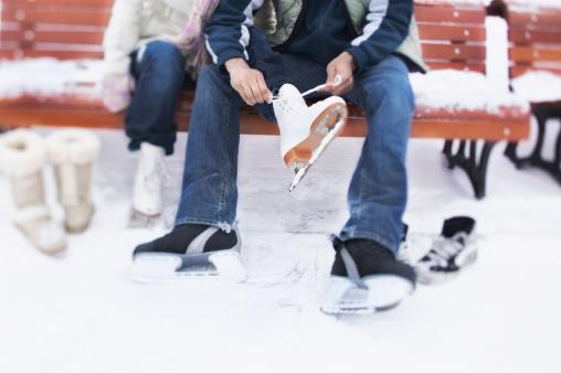 Fountain Square Ice Rink Winter Date Idea