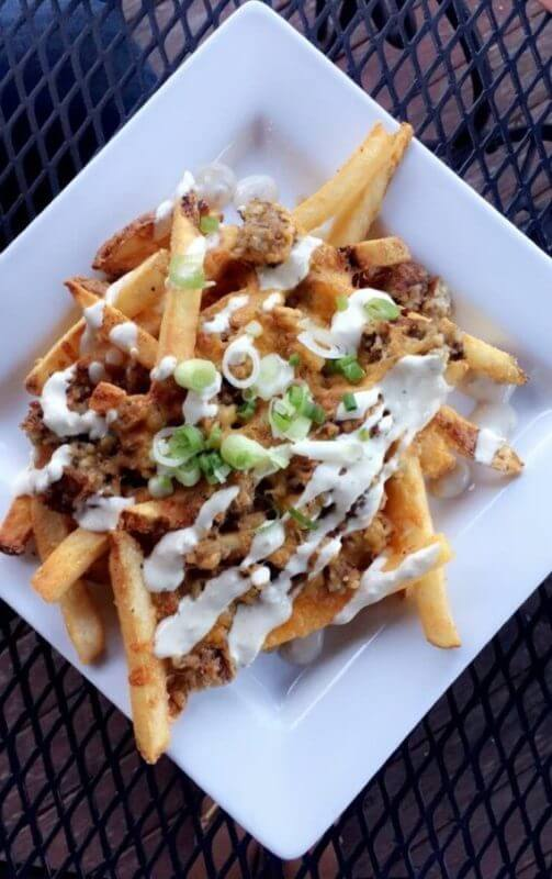Goetta Fries at deShas Cincinnati