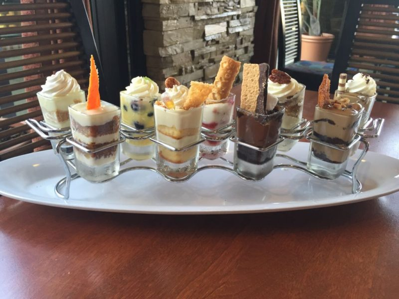 Desserts at Seasons 52
