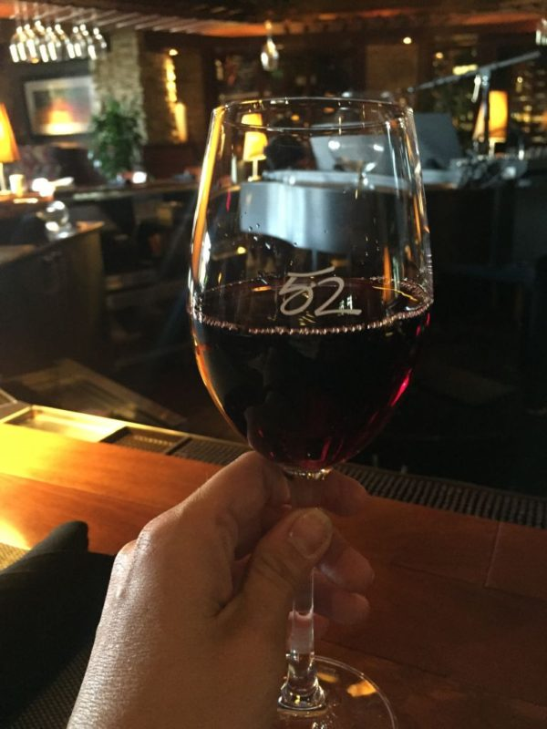 Seasons 52 wines