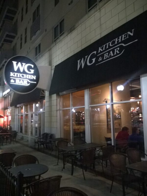 WG Kitchen & Bar the Banks Date Night Cincinnati