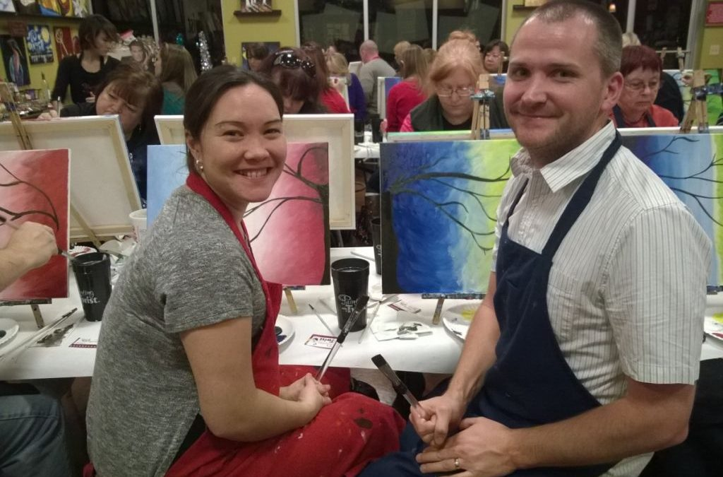 Paint, Drink and Be Merry!
