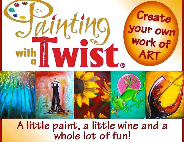 Painting with a Twist - Cincinnati Date Idea