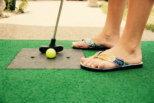 NKY & Cincinnati Mini Golf Date Ideas