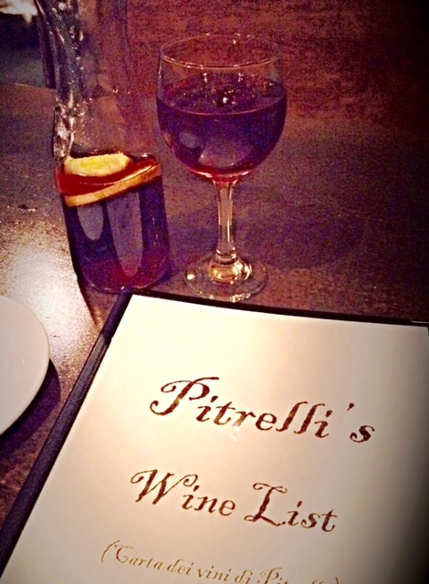 Wine at Pitrelli's