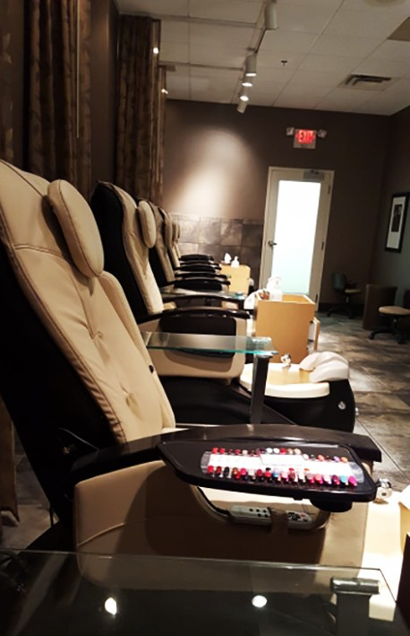 Mitchell's salon and spa pedicure Cincinnati