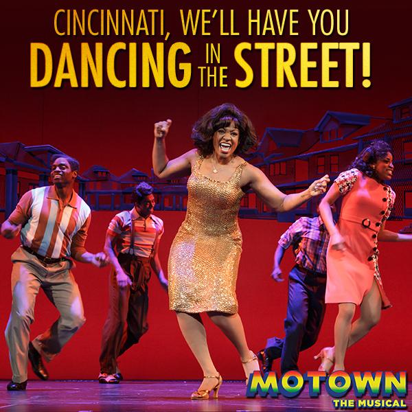 Motown Musical Cincinnati Aronoff