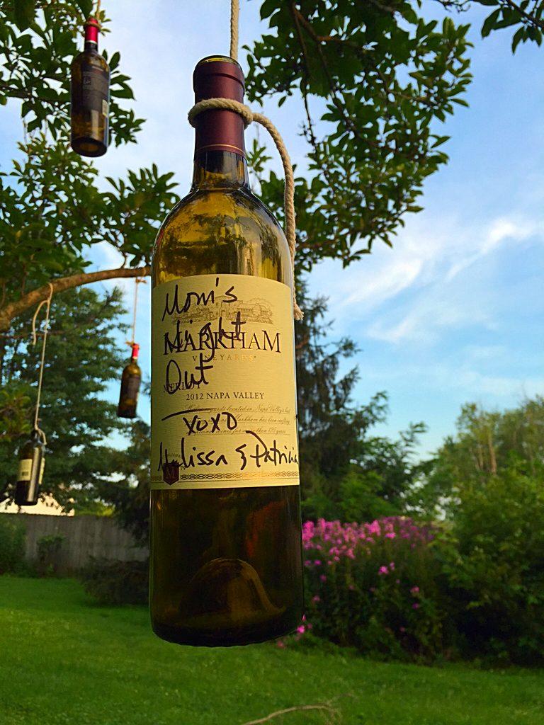 Cozy's Cottage Wine Message
