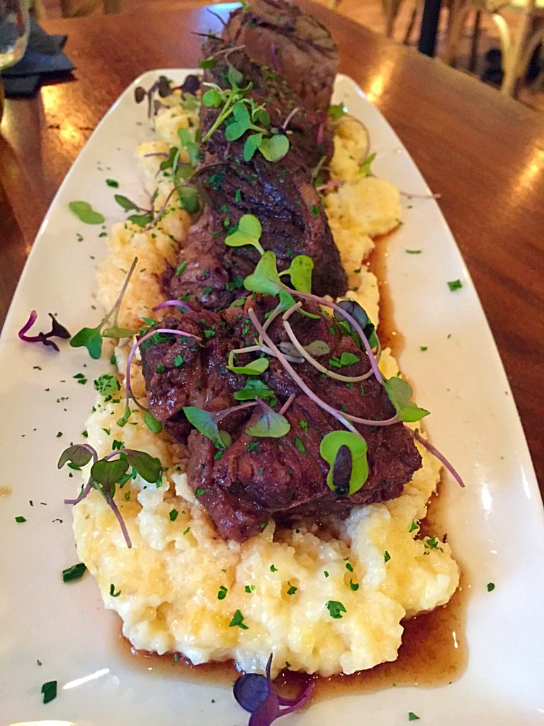 The Braised Beef Short Ribs at Cozy's Cottage