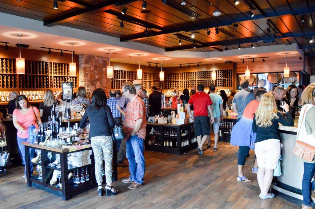 Wine tastings at Cooper's Hawk Winery Cincinnati