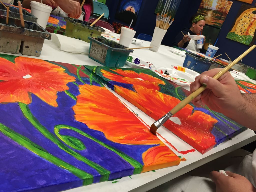 Date Night Paint Night at Stroke of Art