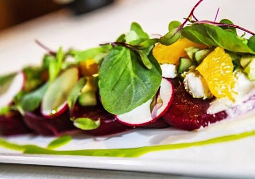 Beet Salad at Eddie Merlot's