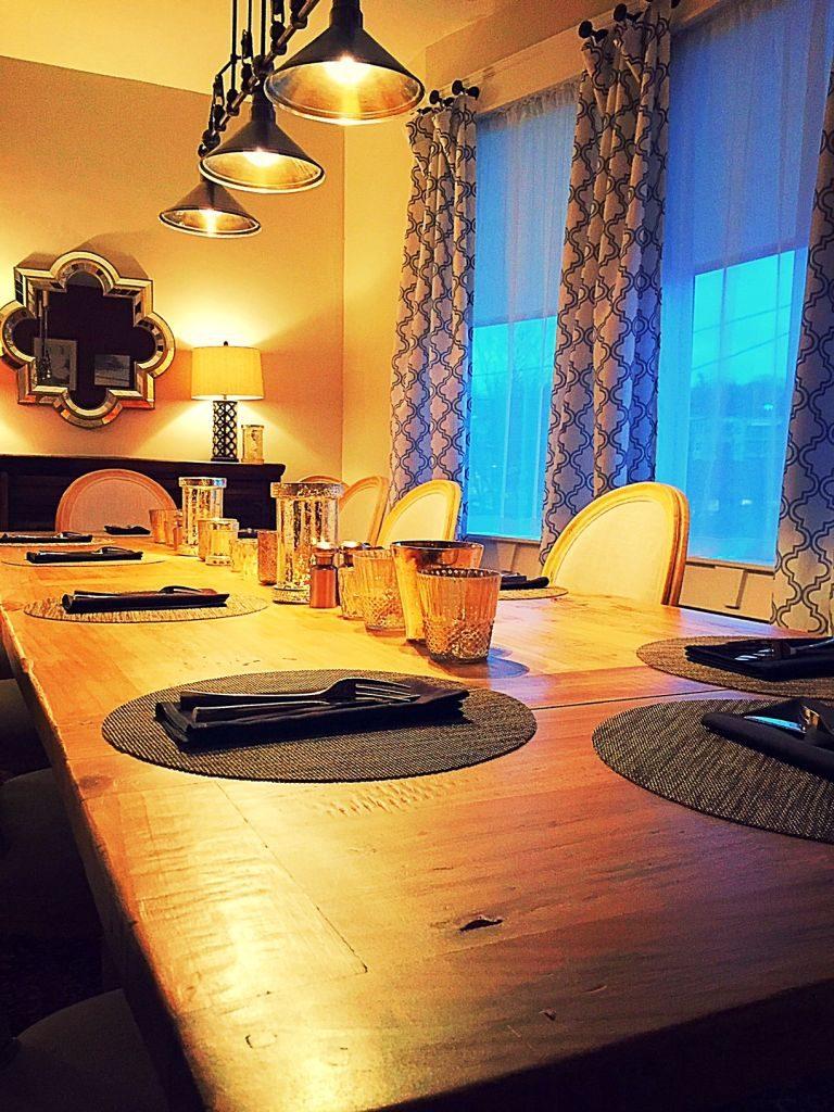 Private Dining Tano Bistro