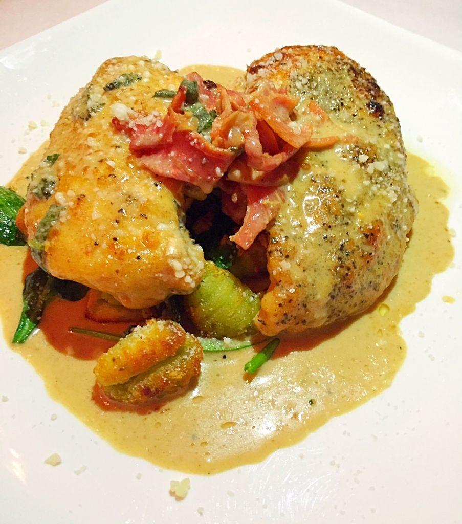 Chicken Saltimbocca Tano Bistro