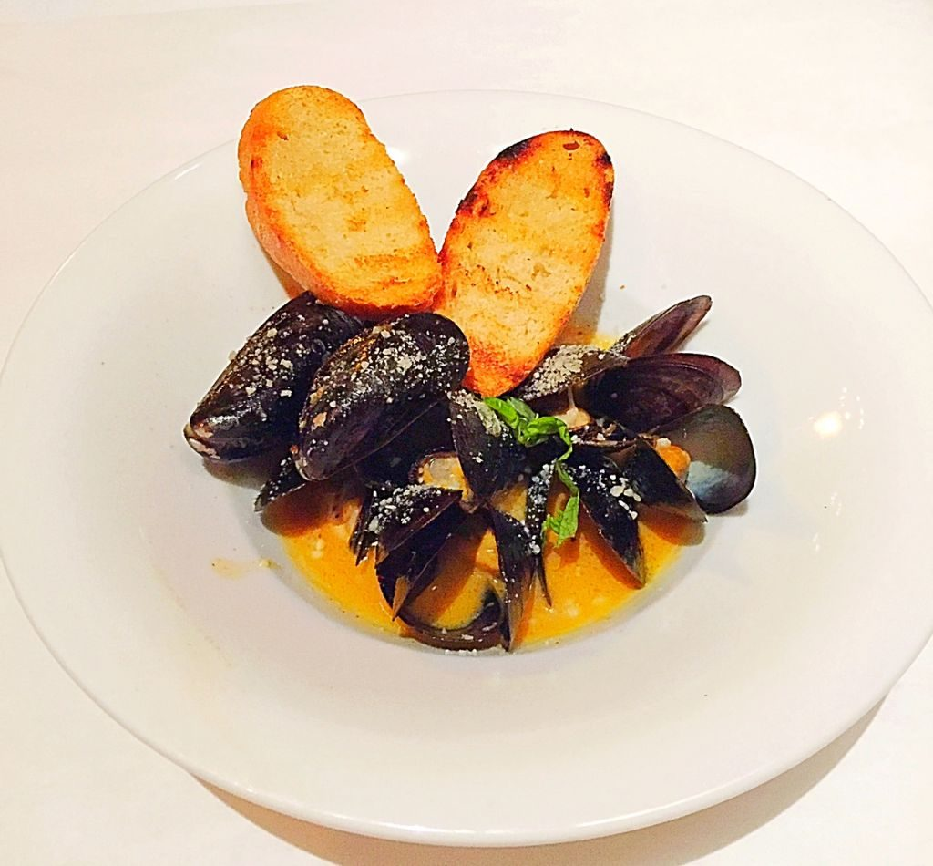 P.E.I Mussels at Tano Bistro