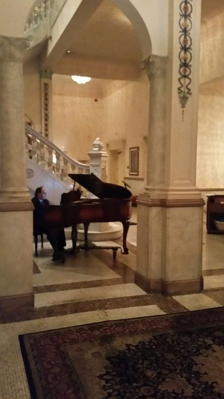 Piano at Presidents Room Cincinnati