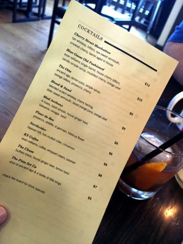 Cocktails in Northside