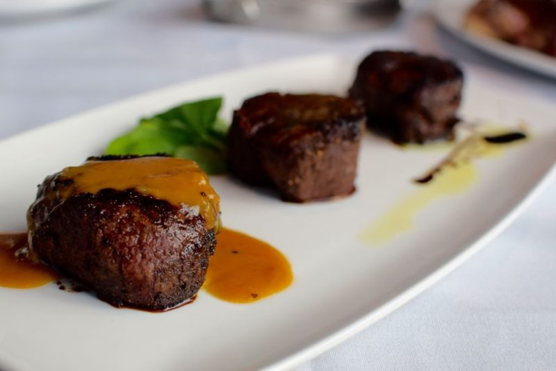 Capital Grille steaks