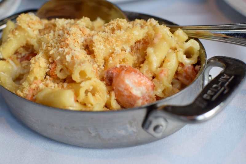 Capital Grille Lobster Mac and Cheese Cincinnati