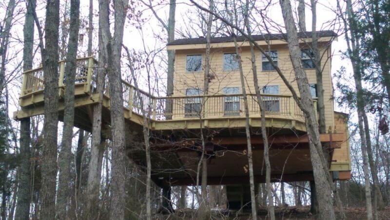 Pete Nelson Treehouse Weekend Getaway