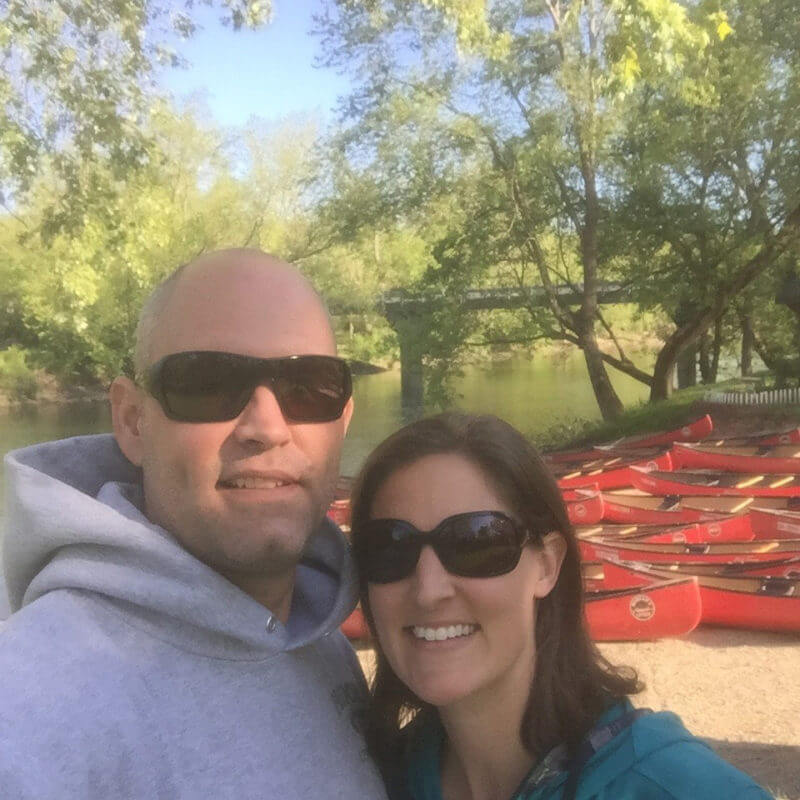 Morgan's Outdoor Adventures Canoe & Dinner for 2