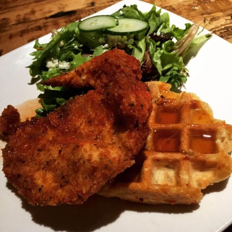 Taste of Belgium Chicken and Waffle