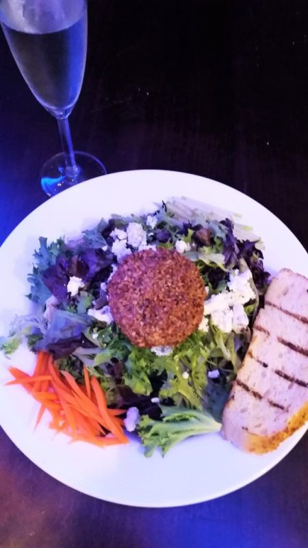 Crusted Goat Cheese Salad at Johnny's Italian Steak