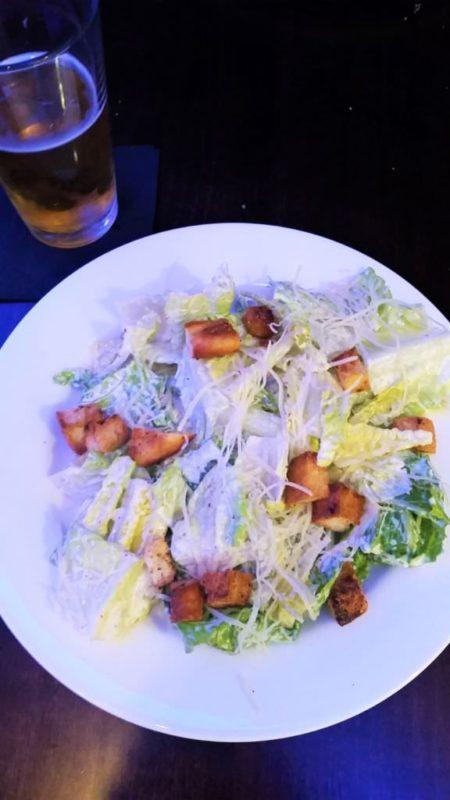 Caesar Salad at Johnny's Italian Steak