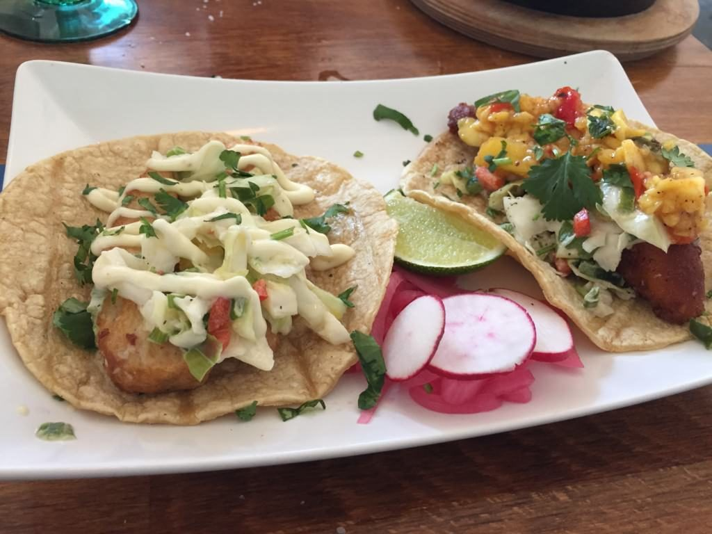Fried Chicken and Fish Tacos from Frida 602