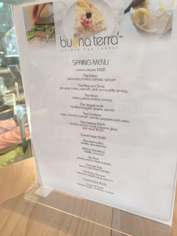 Sweet & Savory Crepes at Buona Terra