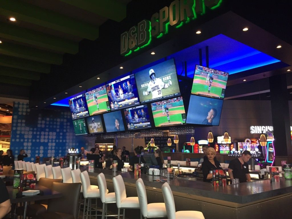 Dave and Buster's sports bar Florence
