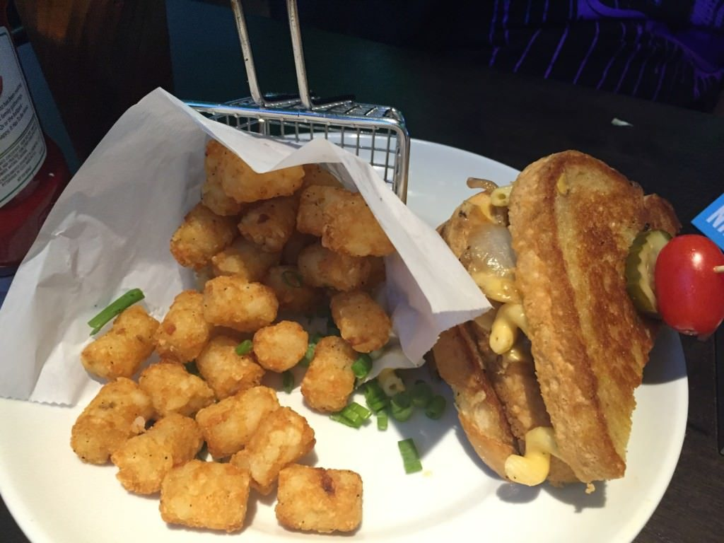 Short Rib and Cheesy Mac Stack at Dave & Buster's Florence