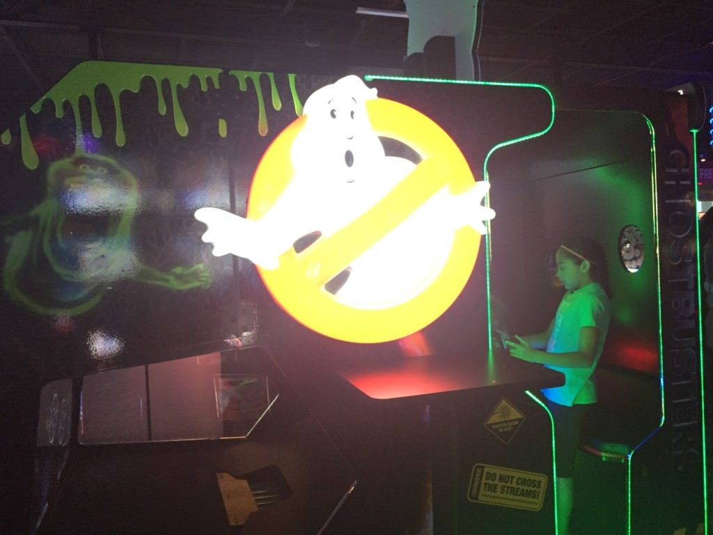 dave and busters ghostbusters game florence, ky