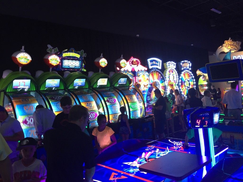 Dave and Busters arcade in Florence