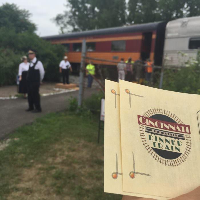 Cincinnati Dinner Train experience
