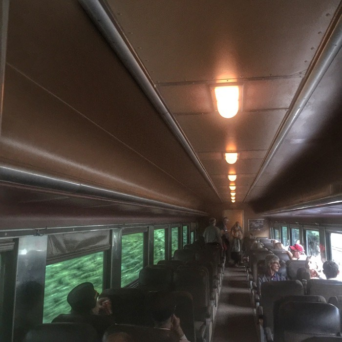 Cincinnati Dinner Train Passenger Car