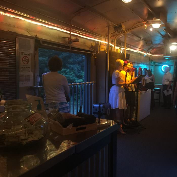 Cincinnati Dinner Train Performance