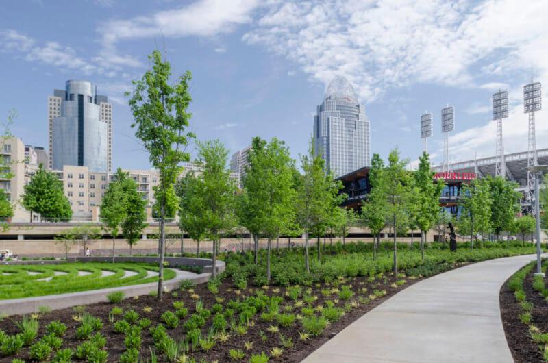 Smale Riverfront Park Cincinnati