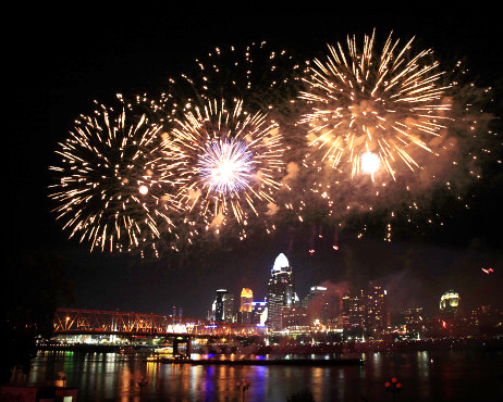 Make it a Date: Labor Day Weekend Fireworks in Cincinnati