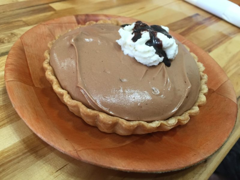 French Silk Pie at Bean Haus