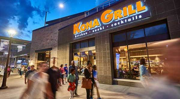Kona Grill Date Night with a Laid Back Vibe