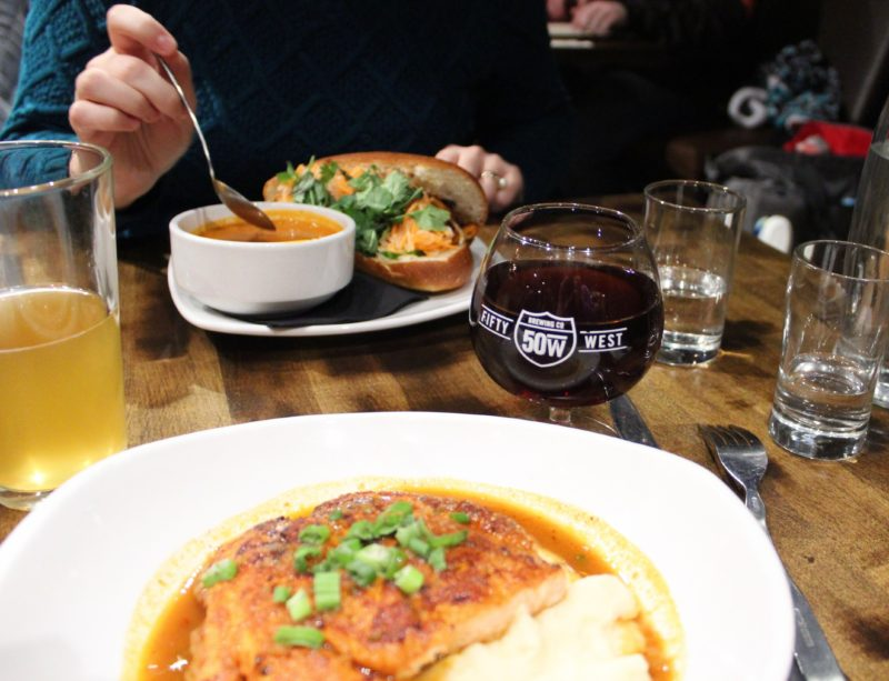 Fifty West Brewpub: Elevated Eats in a Rustic Retreat