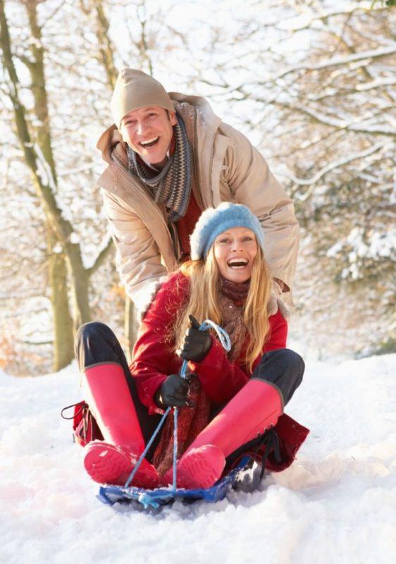Winter outdoor date ideas