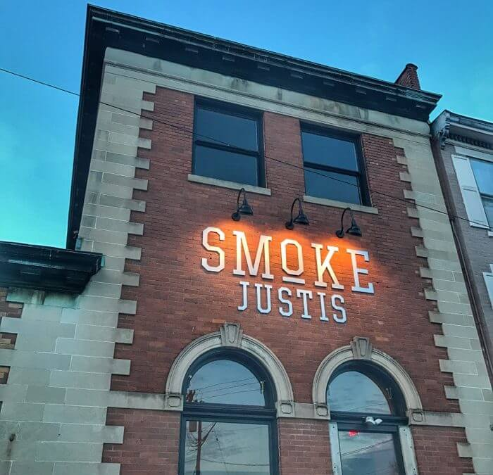 A fun time at Smoke Justis