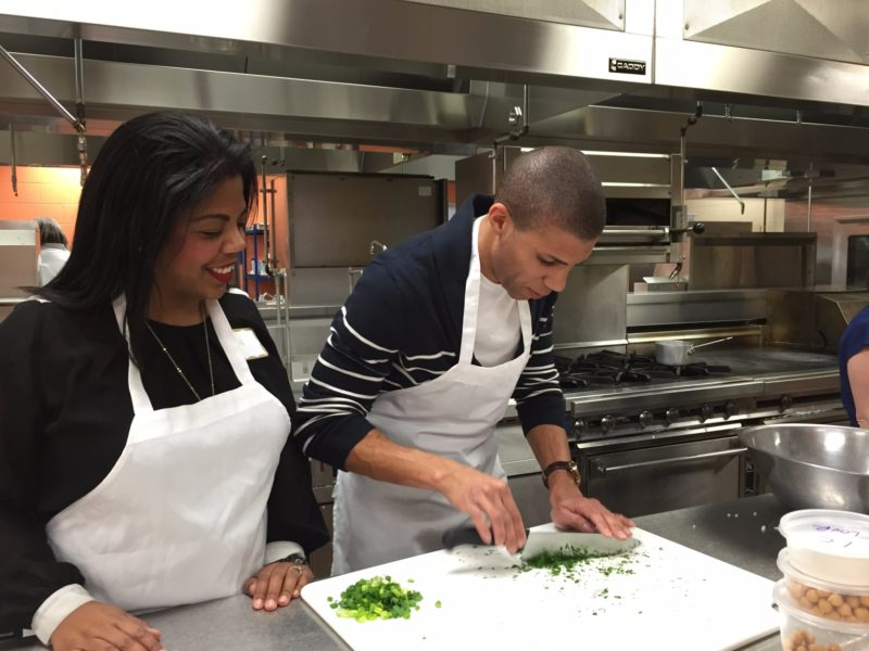 Date night cooking class at Cincinnati State