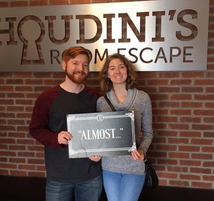 The great escape at Houdini's Room Escape