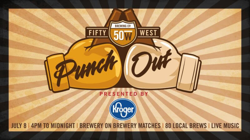 Get Ready to Rumble with Fifty West Brewing Company at Punch Out: Round 2